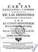 Cartas edificantes, y curiosas, escritas de las missiones estrangeras, y de levante