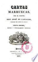 Cartas Marruecas por el coronel Don ---