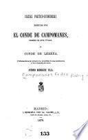 Cartas político-económicas escritas por el conde de Campomanes ... al conde de Lerena
