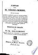 Cartas sobre el cólera morbo