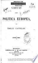 Cartas sobre política europea