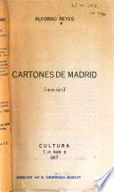 Cartones de Madrid (1914-1917)