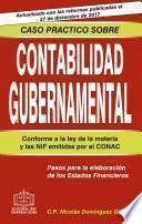 CASO PRÁCTICO SOBRE CONTABILIDAD GUBERNAMENTAL 2018