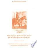 Catálogo de documentos--carta de la Colección Porfirio Díaz: Mayo-Septiembre 1881