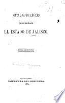 Catálogo de frutas que produce el estado de Jalisco