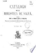 Catálogo de la biblioteca de Salvá