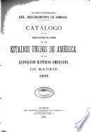 Catalogo de la exposicion historico-Americana de Madrid
