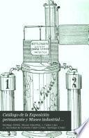 Catálogo de la Exposición permanente y Museo industrial de la Sociedad de fomento fabril