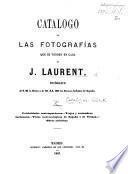 Catalogo de las Fotografías que se venden en casa de J. Laurent