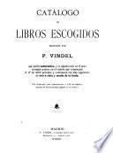 Catálogo de libros escogidos reunidos