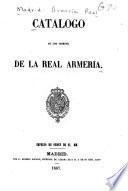 Catalogo de los objetos de la Real Armeria