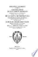 Catálogo de sus libros impresos
