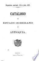 Catálogo del estado soberano de Antioquia