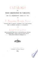 Catálogo del Museo Arqueológico de Tarragona