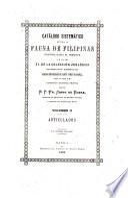 Catálogo sistemático de toda la fauna de Filipinas