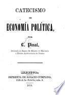 Catecismo de economía política
