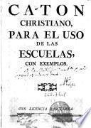 Caton christiano para uso de las escuelas