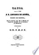 Causa formada en 1526 a D. Antonio de Acuna, obispode Zamora, porla muerte que dio a Mendo de Noguerol, alcaide de la fortalze de Simancas, publicada por D. M. S. V