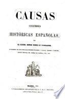 Causas celebres historicas Espanolas