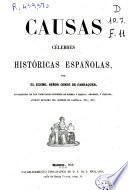Causas célebres históricas españolas