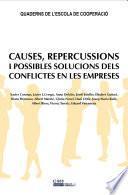 Causes, repercussions i possibles solucions dels conflictes en les empreses