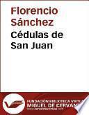 Cédulas de San Juan