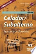 Celador/Subalterno. Personal de Servicios. Temario. Servicio Murciano de Salud