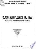 Censo agropecuario de 1955
