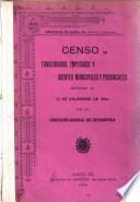 Censo de funcionarios