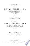 Censo de las Islas Filipinas, tomado bajo la dirección de la Comisión Filipina en 1903