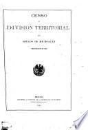 Censo general de la República Mexicana verificado el 28 de octubre de 1900