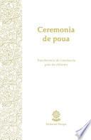 Ceremonia de poua