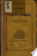 Cervantes y la filosofía española