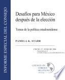 Challenges for a Postelection Mexico (Spanish)