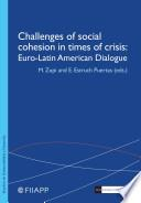 Challenges of Social Cohesion in Times of Crisis