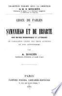 Choix de fables de Samaniego et de Iriarte