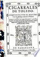 Cigarrales de Toledo. Primera parte