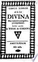 Cinco libros de la Ley divina