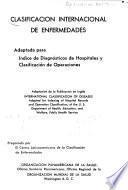 Clasificación internacional de enfermedades, adaptada para índice de diagnósticos de hospitales y clasificación de operaciones