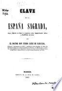 Clave de la España sagrada