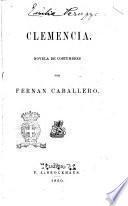 Clemencia novela de costumbres por Fernan Caballero