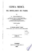 Clinica medica del Hotel-Dieu de Paris