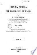 Clinica medica del Hotel Dieu de Paris