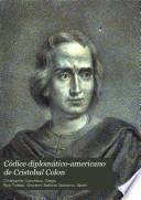 Códice diplomático-americano de Cristobal Colon