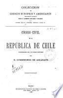 Código civil de la Republica de Chile