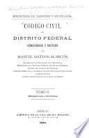 Código civil del Distrito Federal