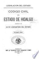 Código civil del Estado de Hidalgo