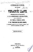 Código civil del estado de Veracruz Llave