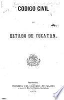 Código civil del estado de Yucatán