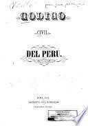 Codigo civil del Perú